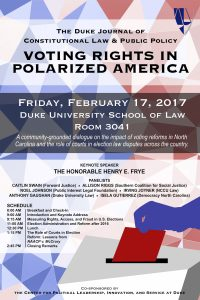 2017 | Voting Rights in Polarized America