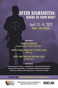 2012 | After Afghanistan: Where to From Here?