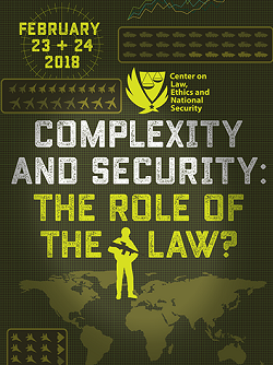 2018 | Complexity and Security: The Role of the Law?