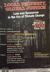 2009 | Local Property, Global Justice: Law and Resources in the Era of Climate Change