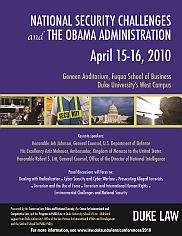 2010 | National Security Challenges and the Obama Administration