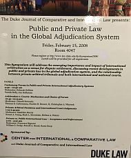 2008 | Public and Private Law in the Global Adjudication System