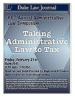 2014 | Taking Administrative Law to Tax