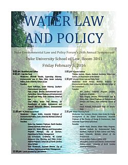 2016 | Water Law and Policy