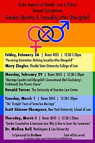 2016 | Gender Identity and Sexuality after <em>Obergefell</em>